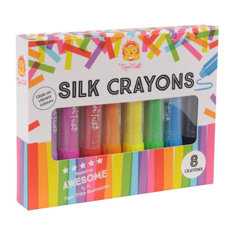 Silk Crayons stiften, Tiger Tribe
