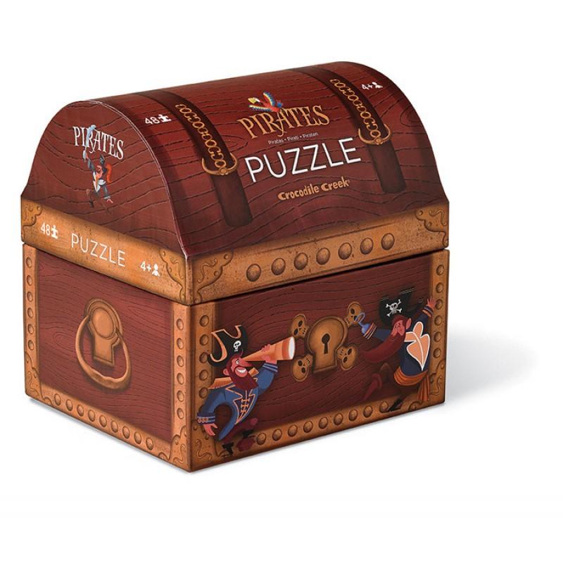 Puzzelbox Piraten, Crocodile Creek
