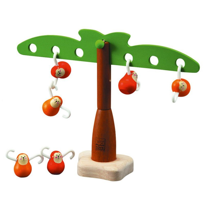 Balancing Monkeys evenwichtsspel, Plan Toys