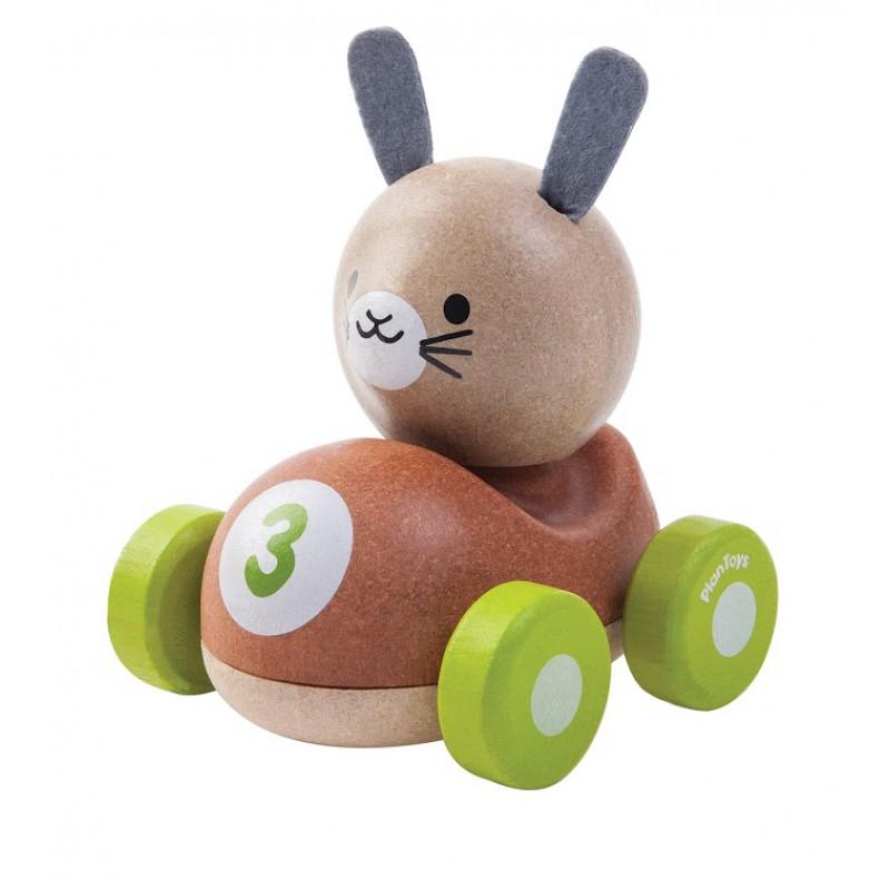 Bunny Racer, Plan Toys