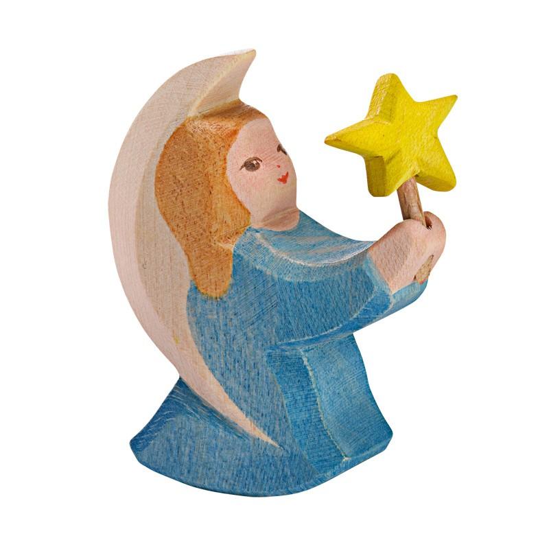 Blauwe engel met ster, Ostheimer
