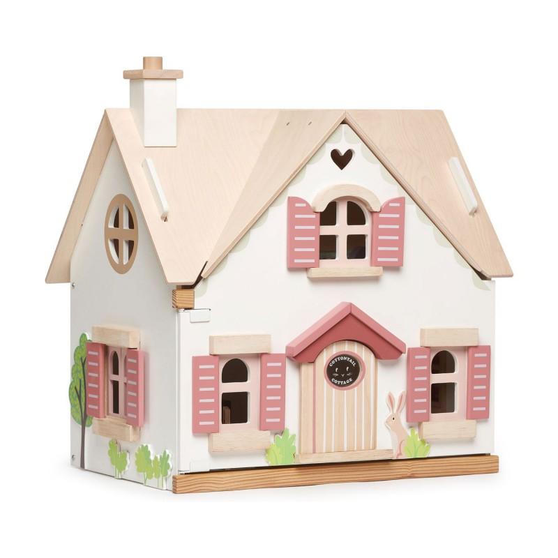 Poppenhuis Cottontail Cottage, Tender Leaf Toys