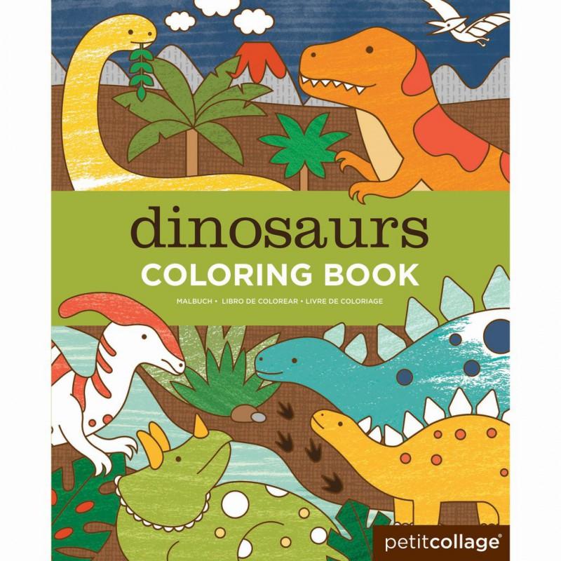 Kleurboek Dino's, Petit Collage