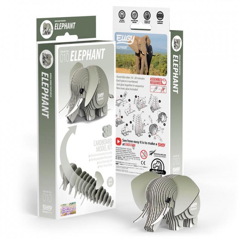 Olifant 3D bouwpakket, Eugy