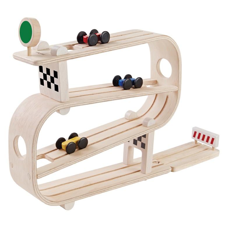 Racebaan Ramp Racer, Plan toys