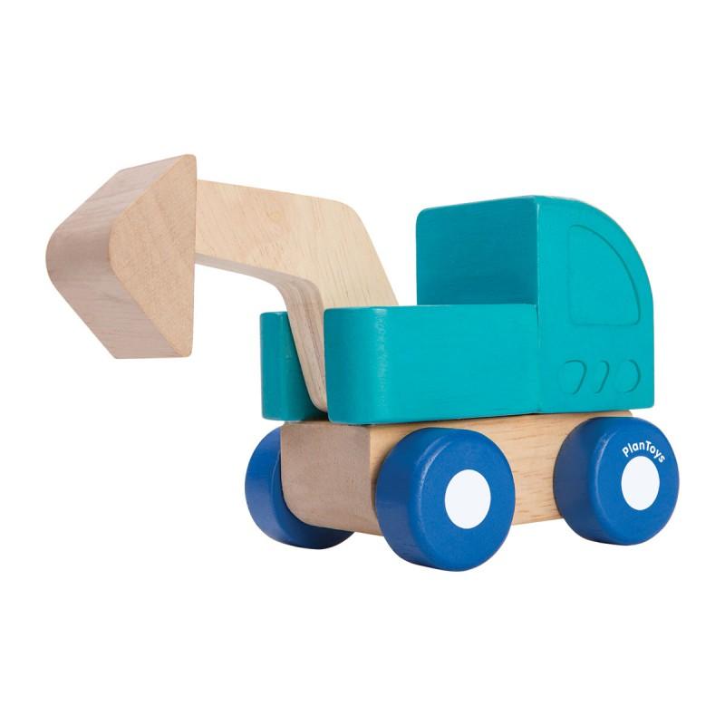 Mini graafmachine, Plan Toys