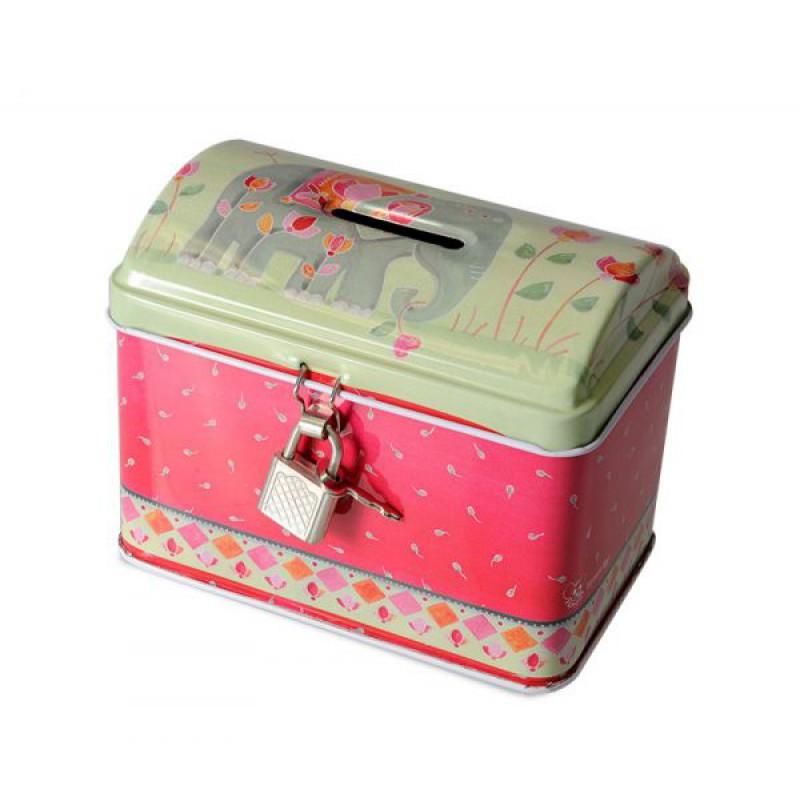 Blikken spaarpot India, Egmont Toys