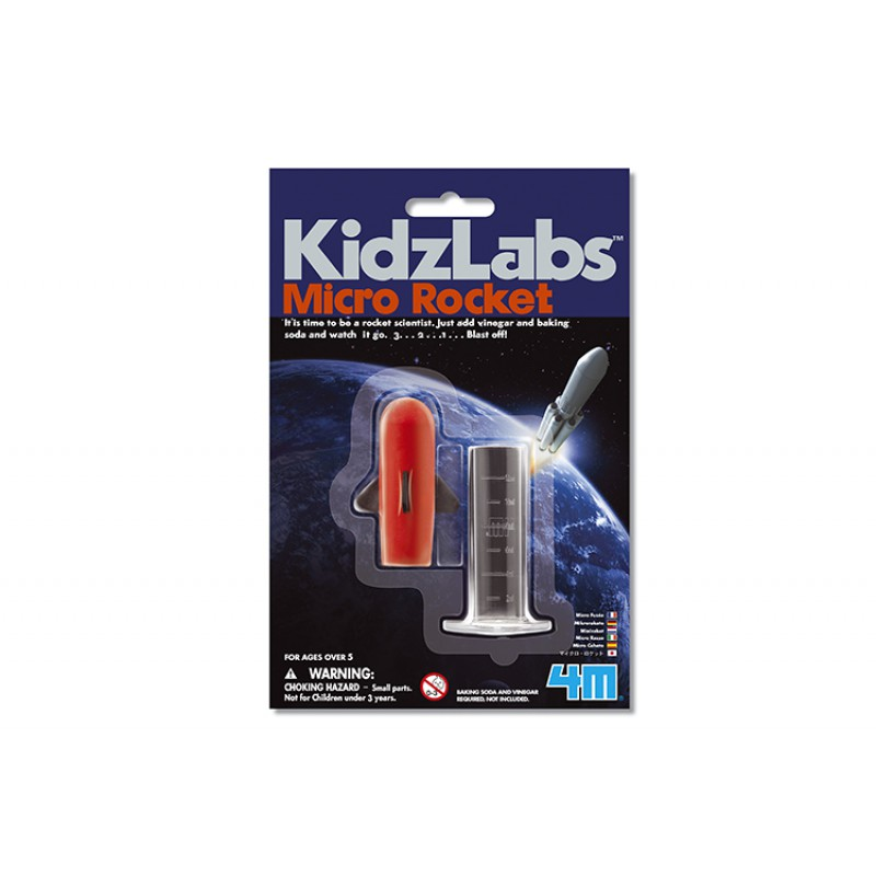 Miniraket Science Card, 4M KidzLabs