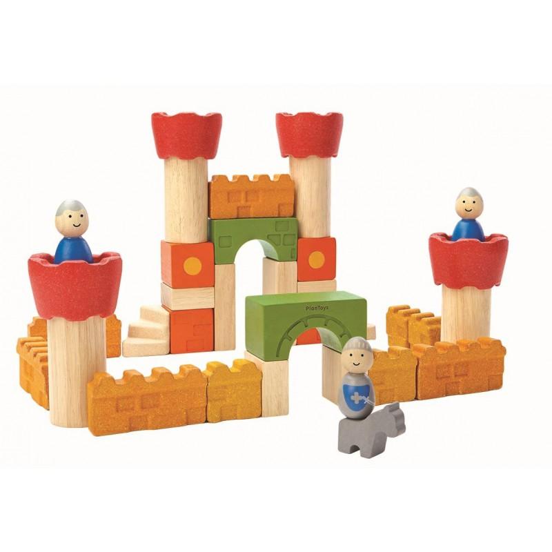 Kasteel blokken, Plan Toys