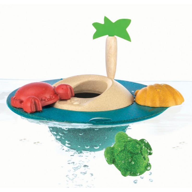 Drijvend eiland, Plan Toys