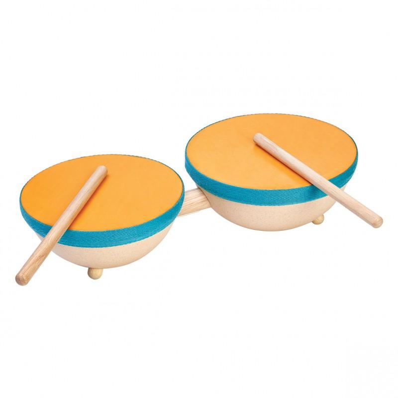 Dubbele trommel, Plan Toys