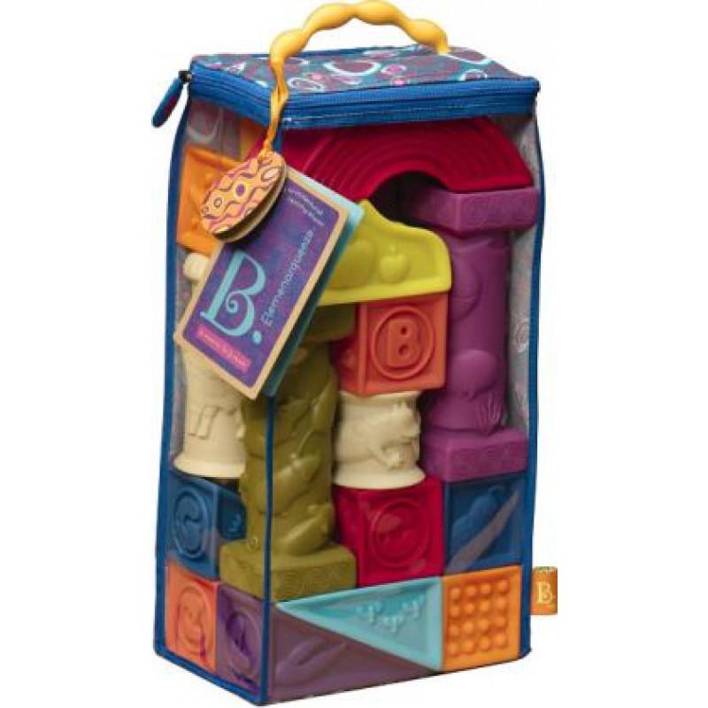 Elemenosqueeze blokken, B. toys