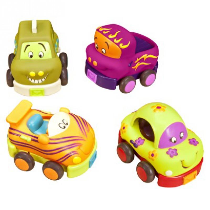 Wheeee-ls!, B. toys