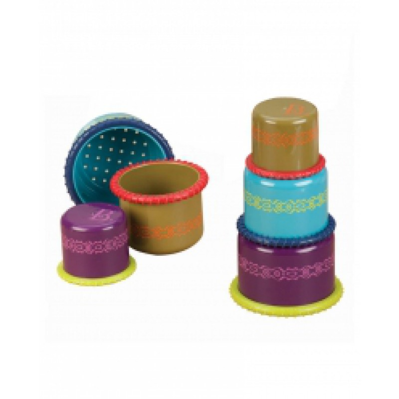 Up Up Cups, B. toys
