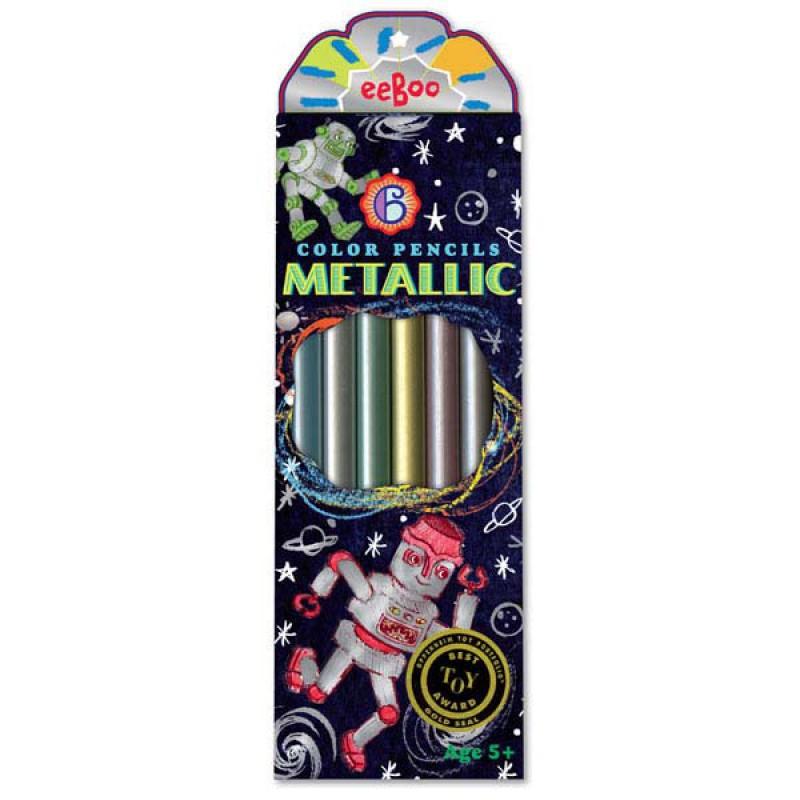 Metallic kleurknotsen Robot, Eeboo