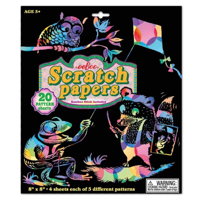 Scratch Papers patronen, Eeboo