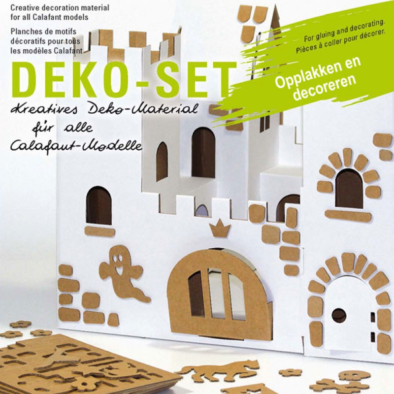 Decoratieset met 300 figuren, Calafant