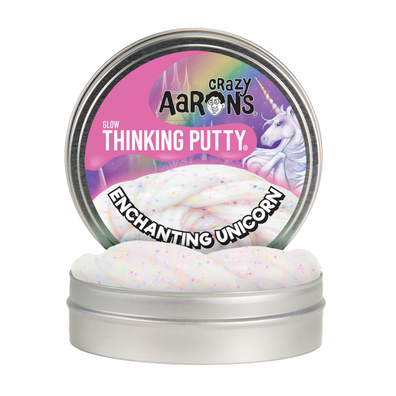 Enchanting Unicorn, Crazy Aarons Glows thinking Putty