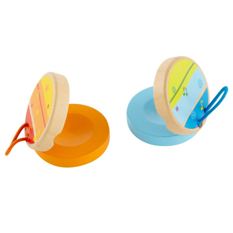 Clickety-Clack castagnette, Hape