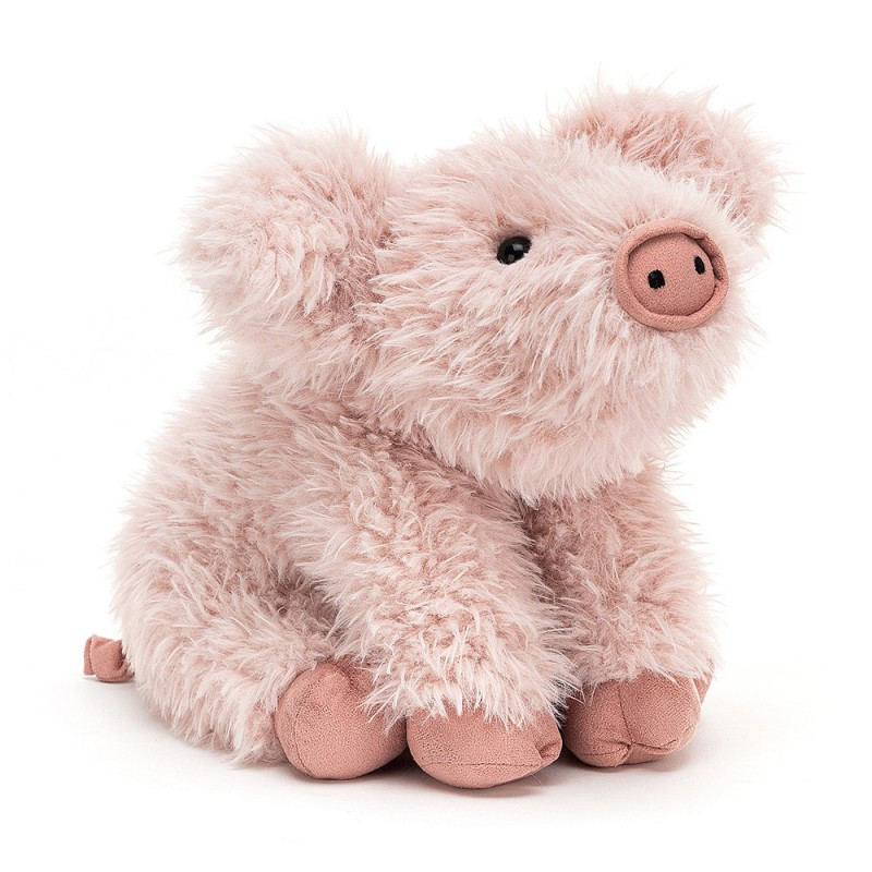 Knuffelvarken Curvie Pig, Jellycat