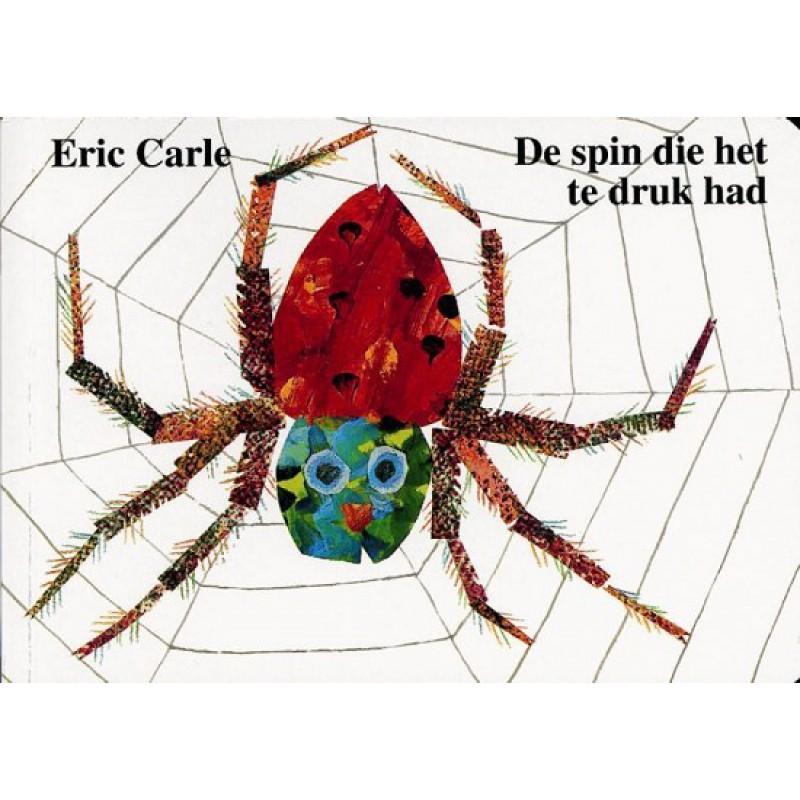 De spin die het te druk had, Eric Carle, kartonboekje