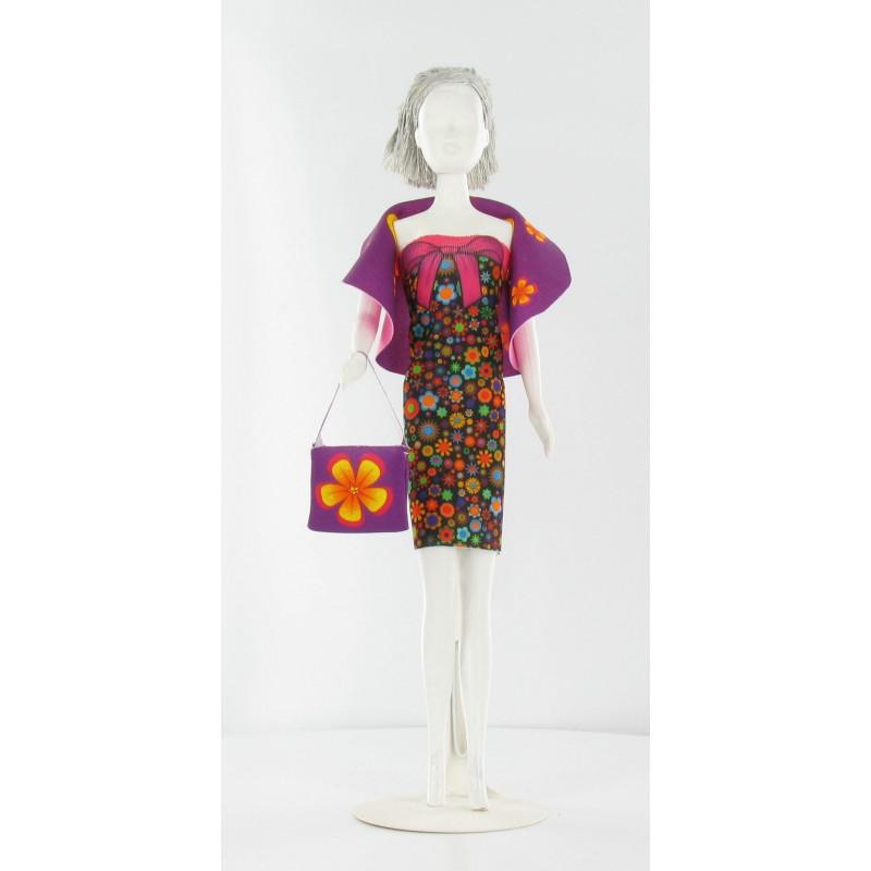 Dolly Flowers, kledingset Dress Your Doll