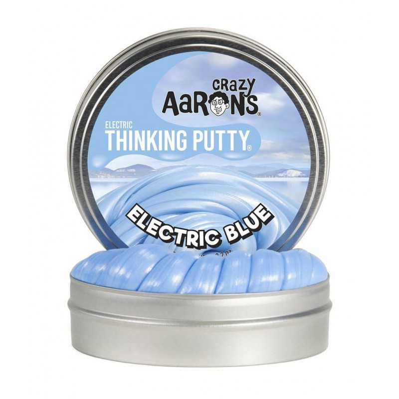 Electric Blue, Crazy Aarons thinking Putty