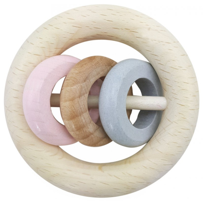Rammelaar ringen roze, Hess