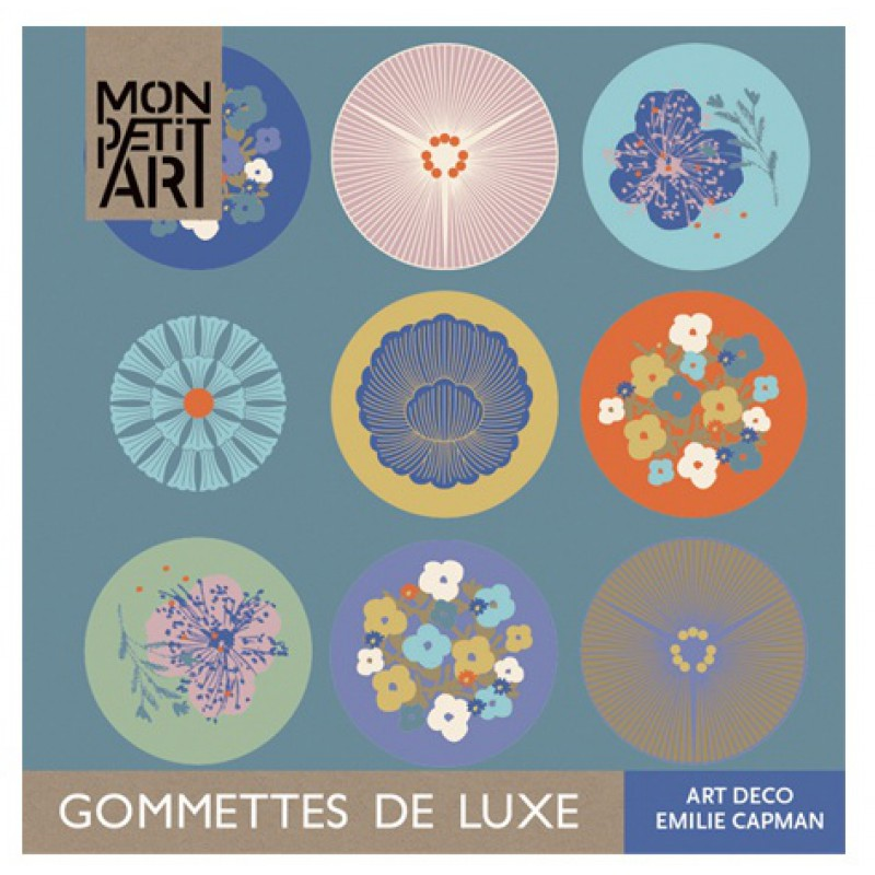 Luxe stickerboekje Art Deco, Mon Petit Art