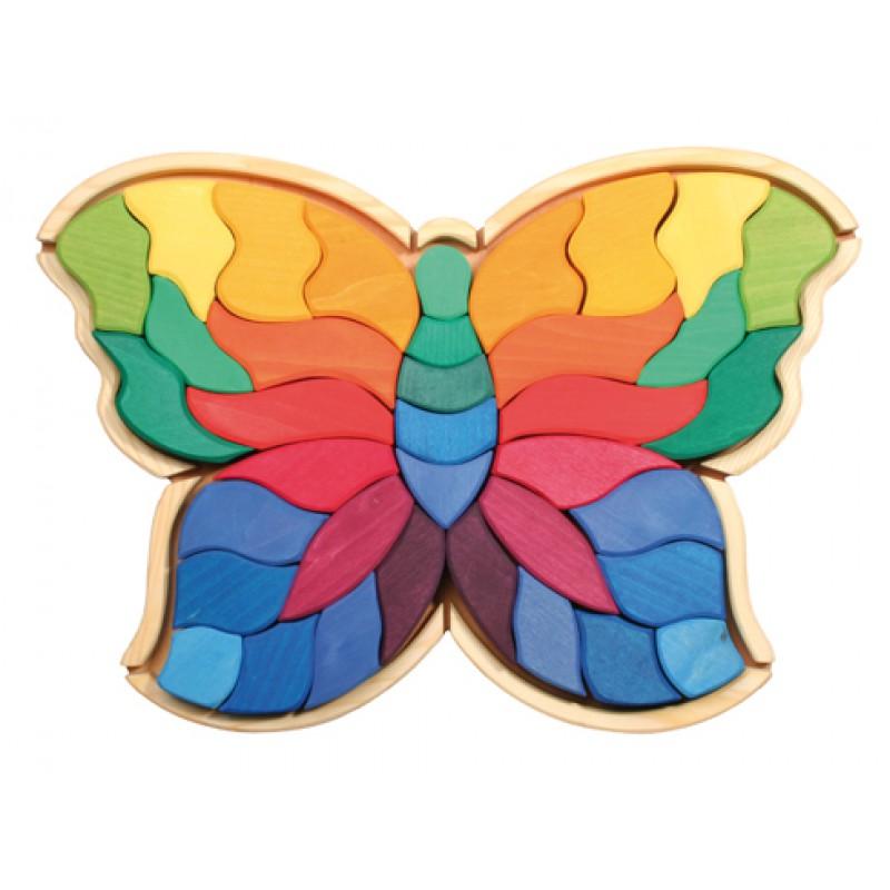 Grote houten vlinderpuzzel, Grimm's