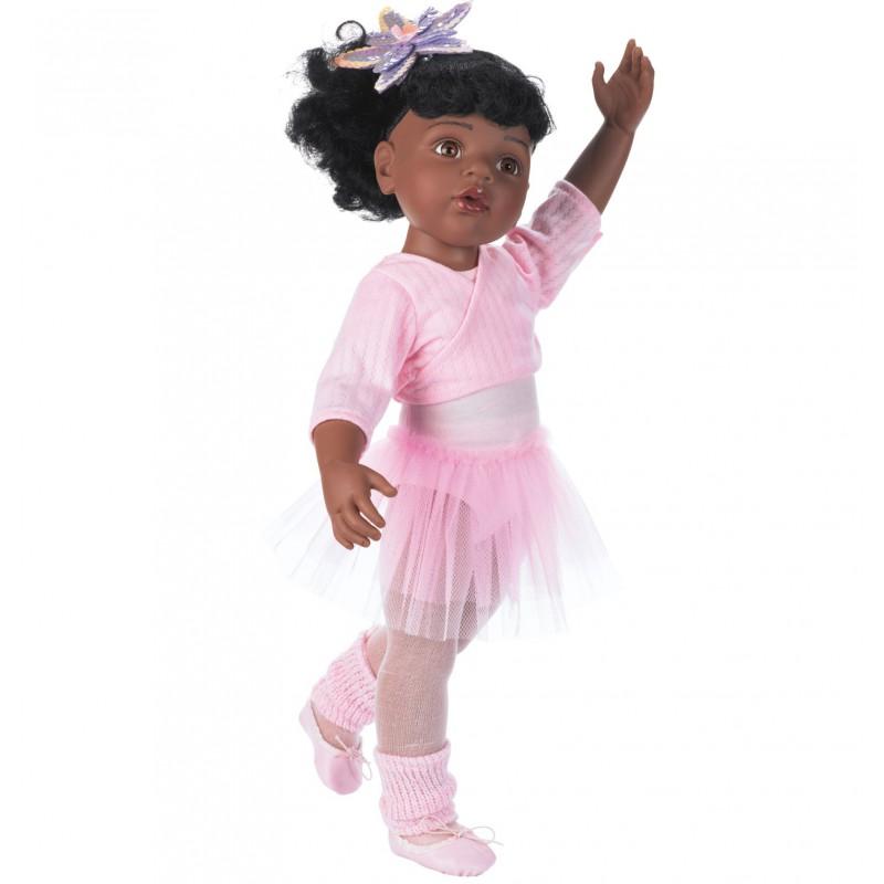 Pop Hannah ballerina donkerbruin, Goetz - XL