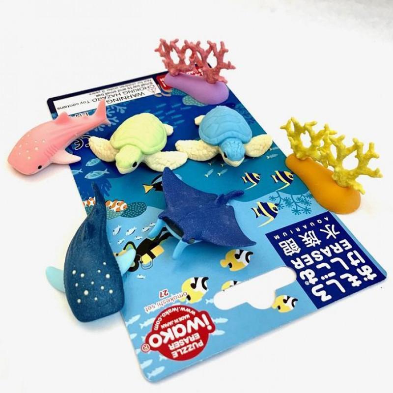 Puzzelgummen Aquarium Iwako