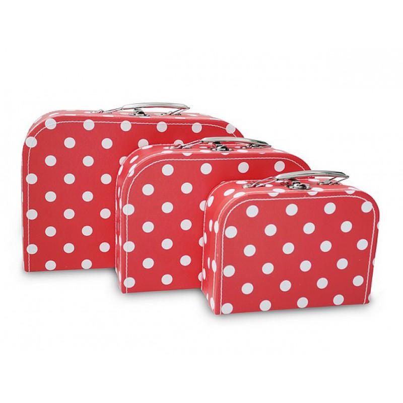 Koffertje Big Nop Red, Cara Caro