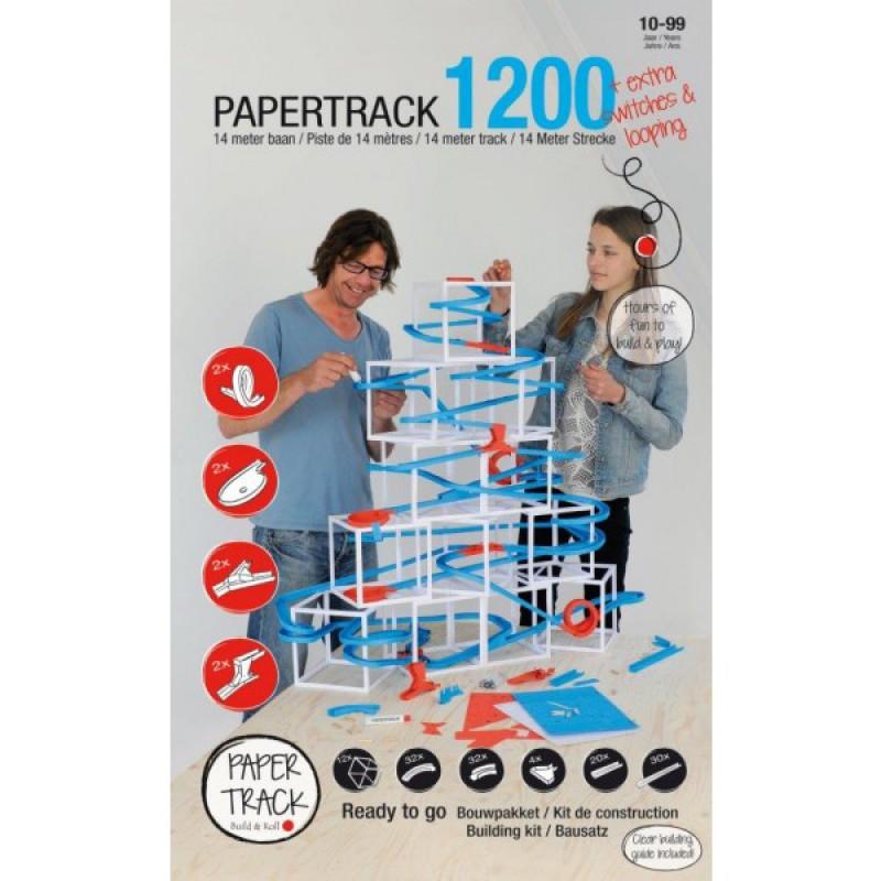 Papertrack 1200 knikkerbaan