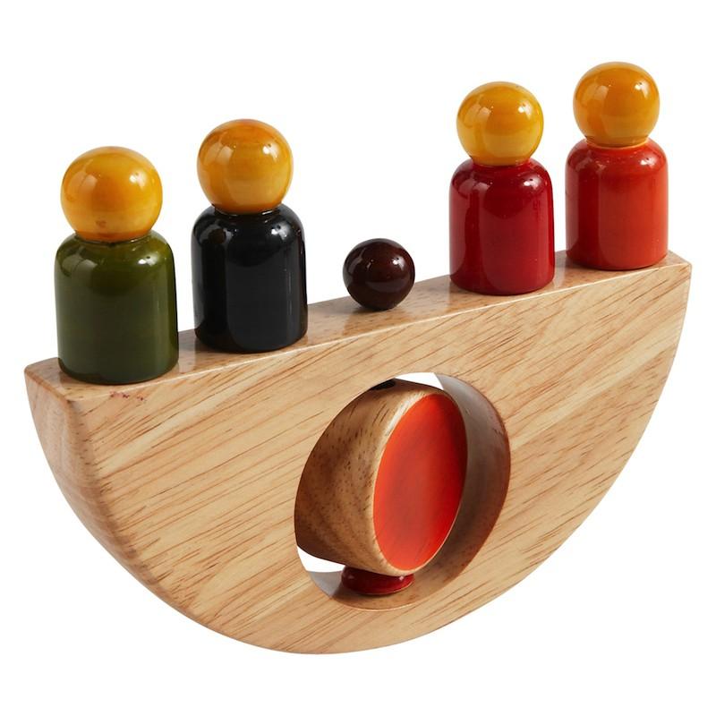 Eco houten balansbootje