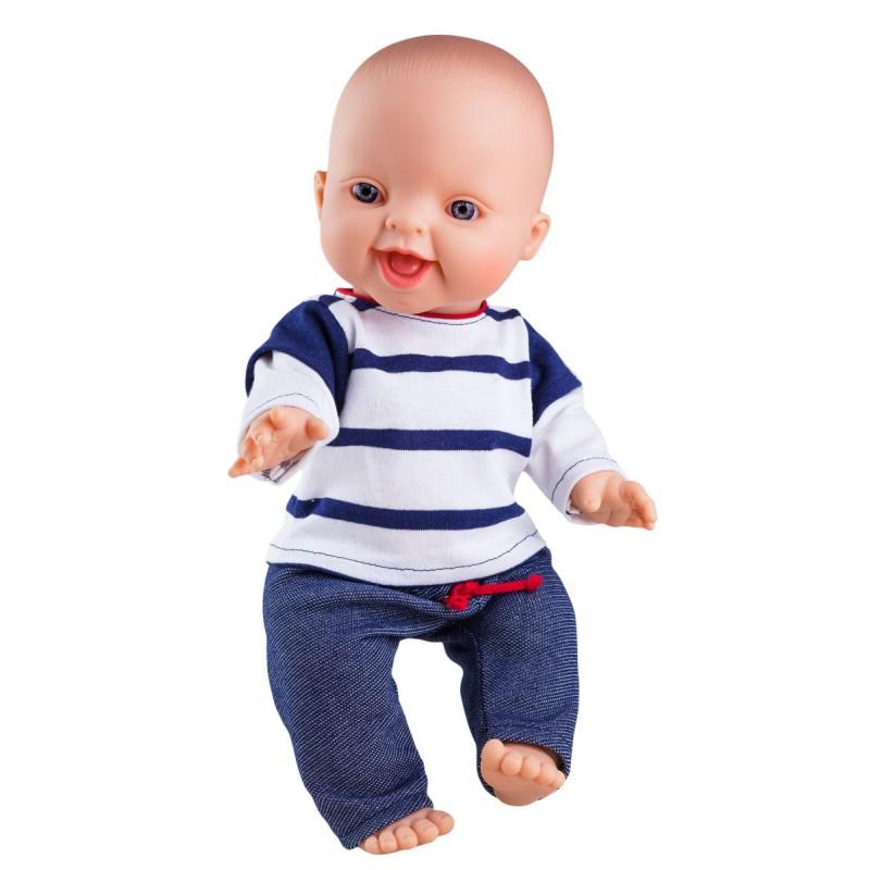 Babypop Carlos met kleding, Paola Reina