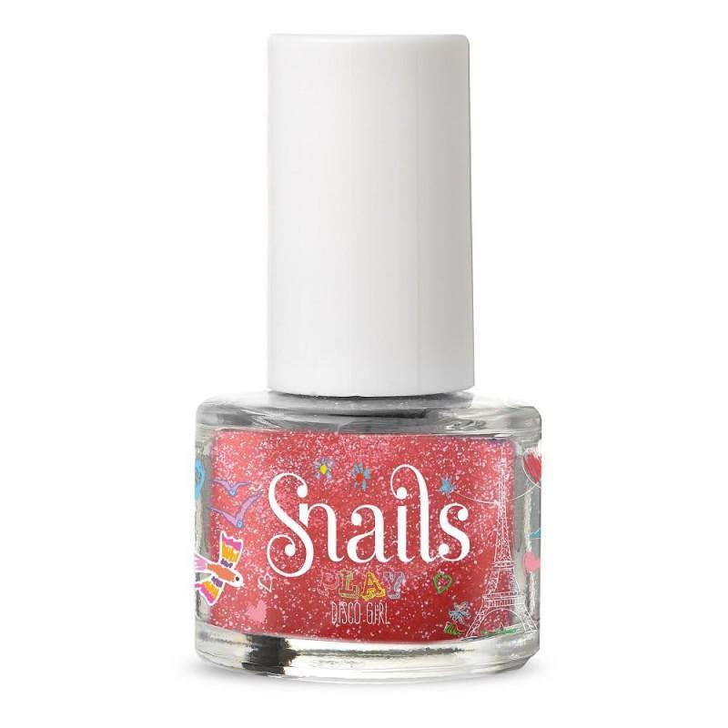 Disco Girl afwasbare kindernagellak, Snails