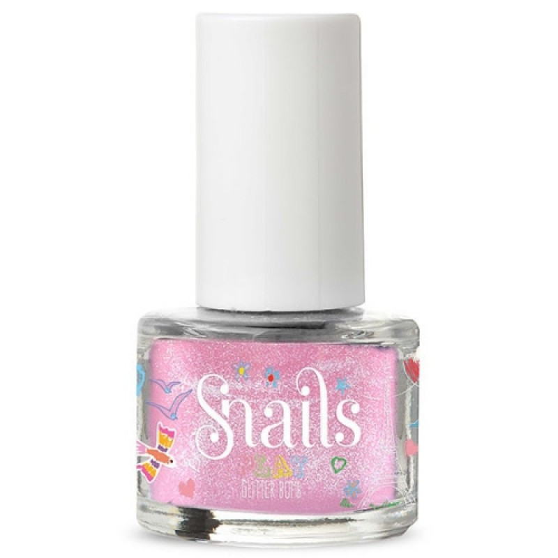 Glitterbomb afwasbare kindernagellak, Snails