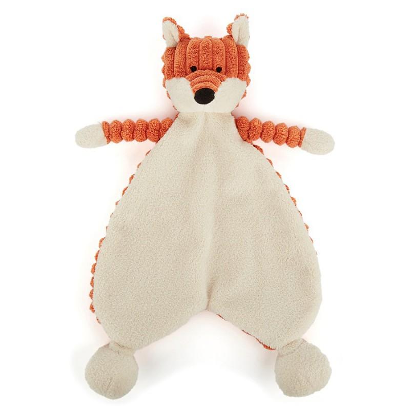 Knuffeldoekje vos, Jellycat Cordy Roy