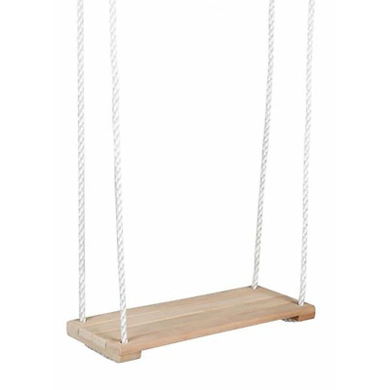 Houten plankschommel