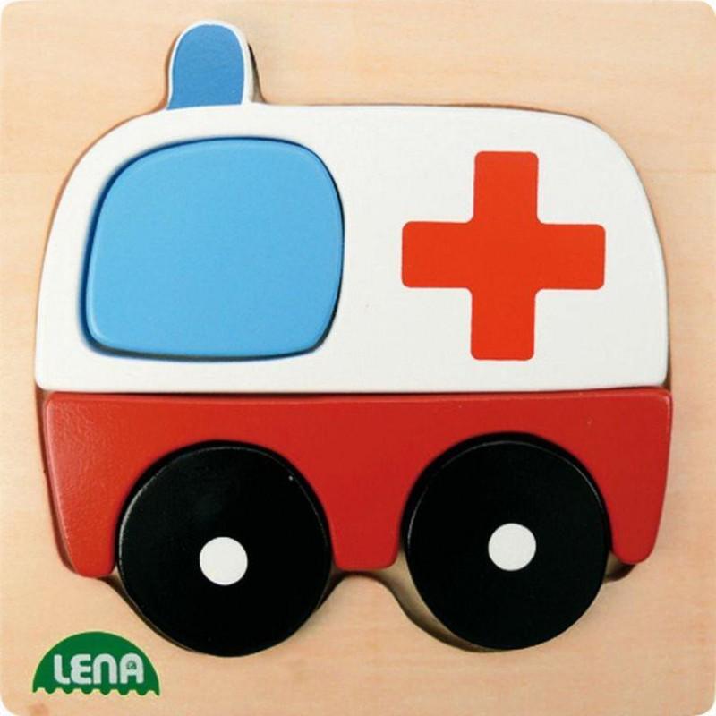 Mijn Eerste Puzzel Ambulance, Lena