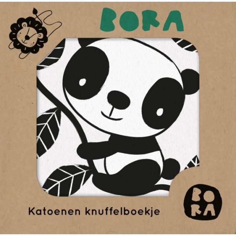 Katoenen knuffelboekje in de dierentuin, Bora