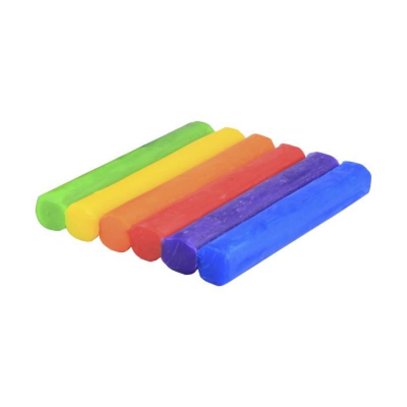 Fantasieklei 6 kleuren 150 gram, Weible