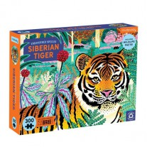 Siberische tijger puzzel 300 st, Mudpuppy