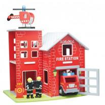 Brandweerkazerne groot, New Classic Toys