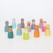12 Pastel vriendjes, Grimm's