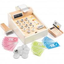 Houten kassa wit, New Classic Toys