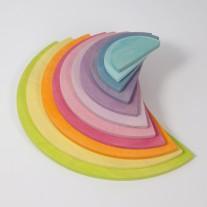 Halfronde schijven pastel, Grimm's