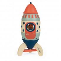 Magneetset raket Lucky Star, Janod