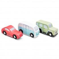 Set van 3 auto's, New Classic Toys